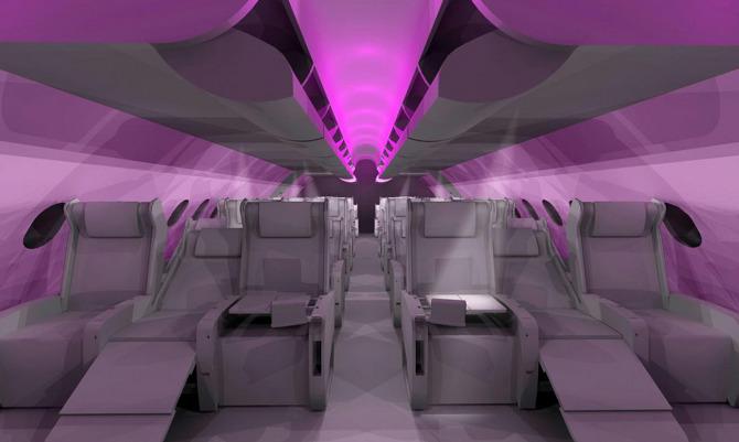 Virgin Atlantic A380 - Ryan Baker - Interior Designer