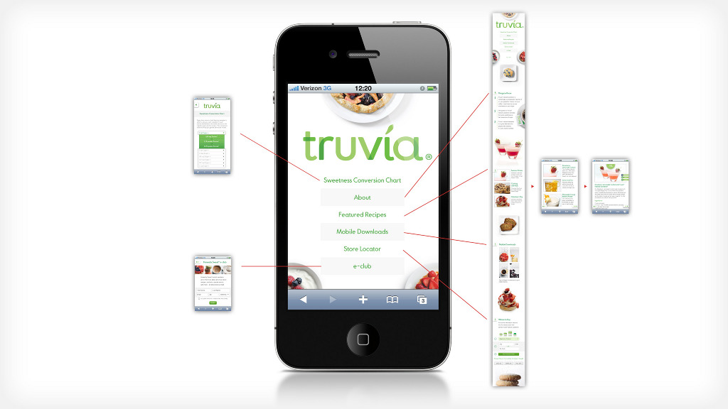 Truvia Mobile Michael Arney Design Portfolio