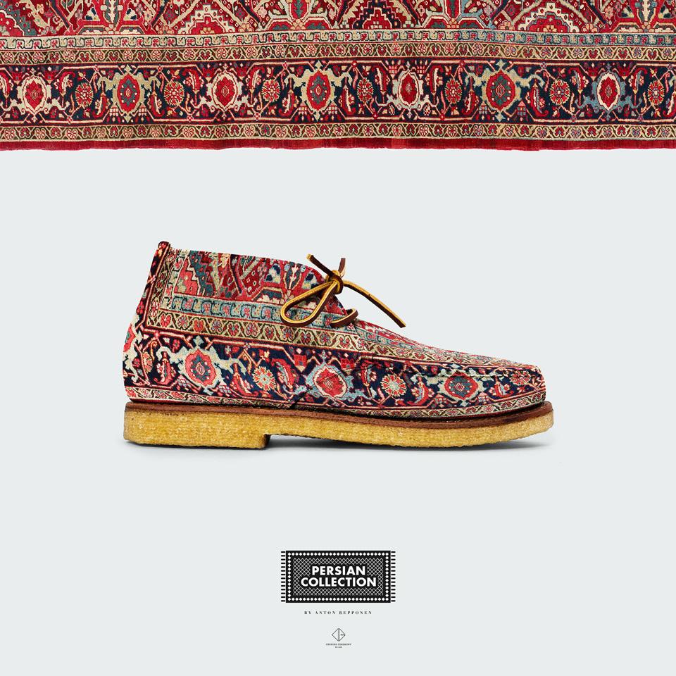 17e71ac240a0 Persian Shoes - Anton Repponen - Museum of Design Artifacts