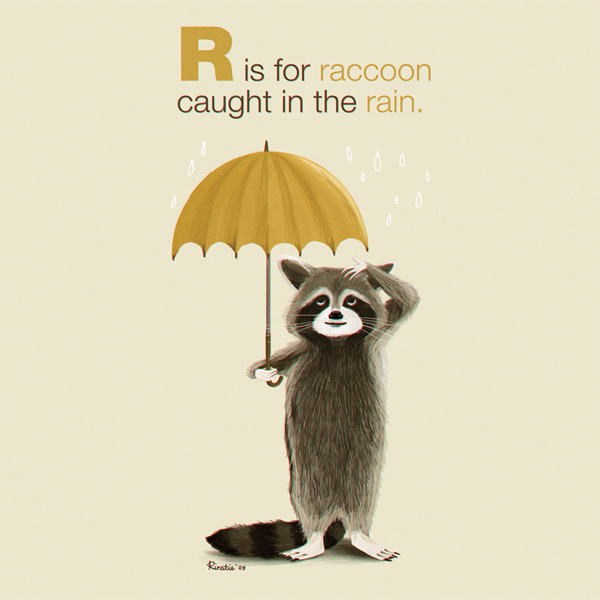 R Is For Raccoon R is for Raccoon - ILL...