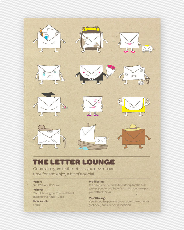 Character Design Letter : Letter lounge william chak
