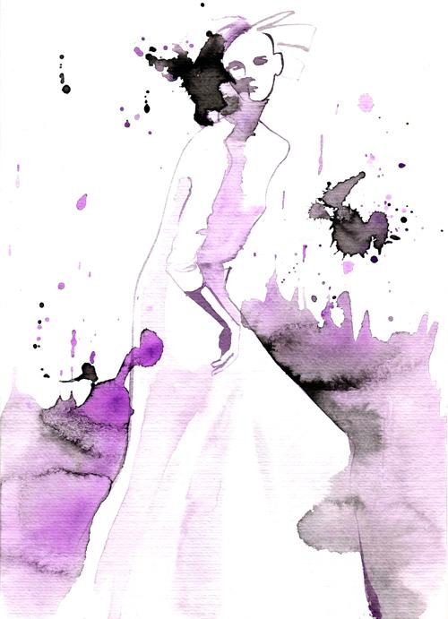 fashion illustration using ink china ink fashion illustrations baiba ladiga illustration