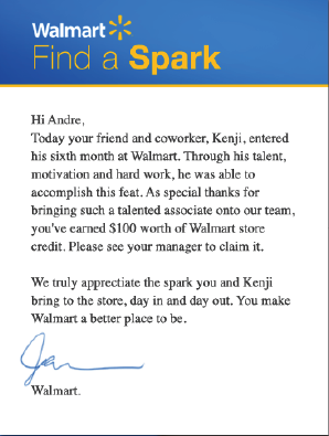 walmart - bring your spark - The Life and Times of Pete Marquis