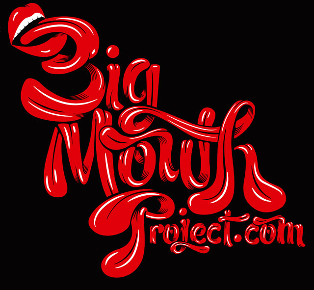 Big Mouth Project Luke Lucas Typographer Graphic
