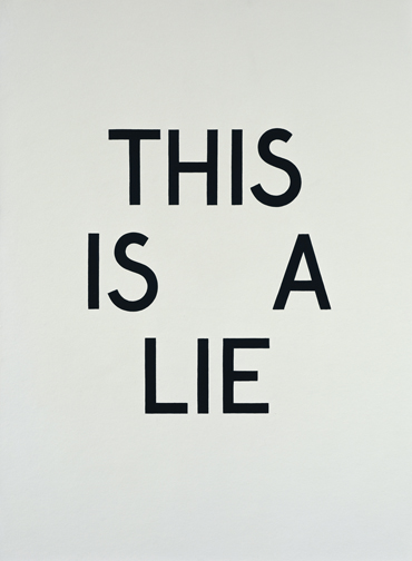 is the truth a lie and a lie a lie about the truth - but does it float
