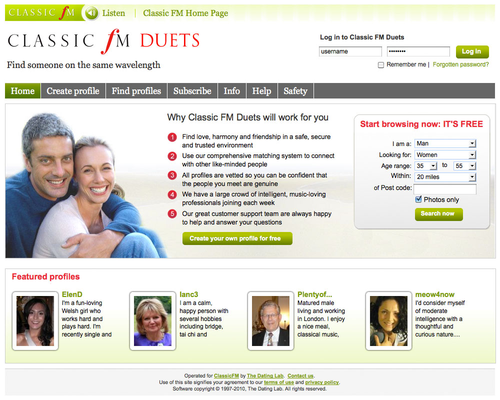 www. Internet Dating