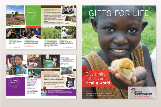 Episcopal Relief & Development's Gifts for Life catalog is an annual fundraiser supporting the Episcopal Church's relief programs in over 40 countries ...