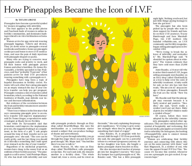 Nyt Pineapple Andrea Pippins