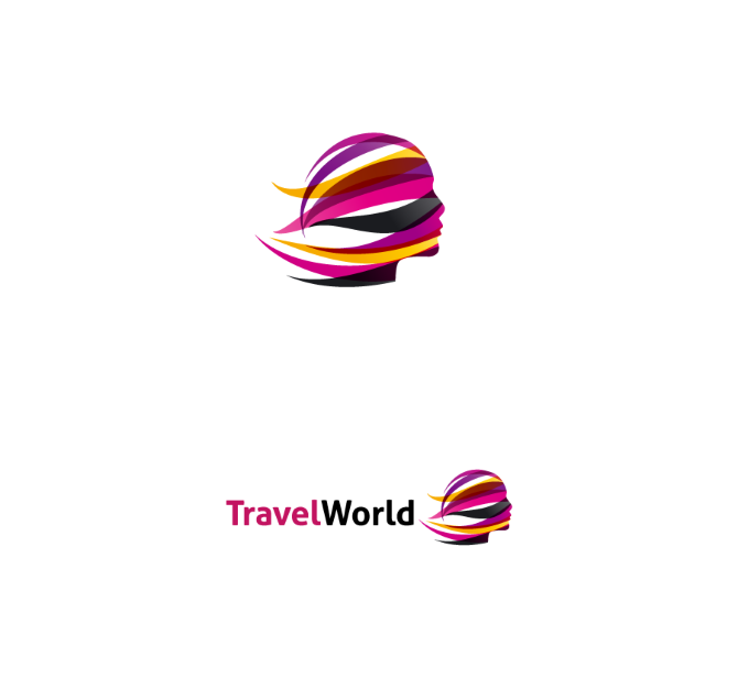 Logo For Site About Travelling TravelWorld