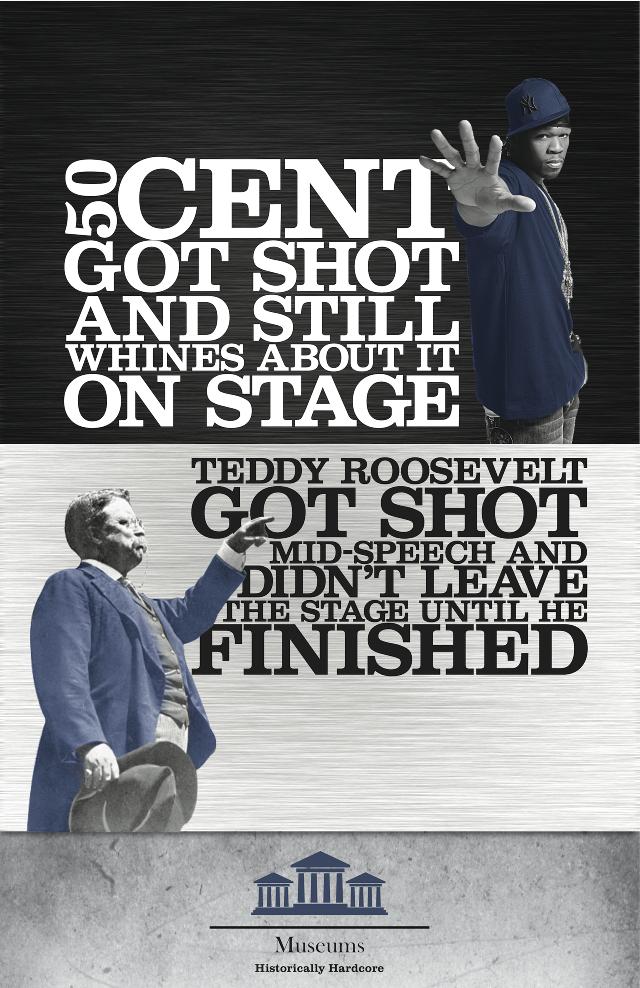 Theodore Roosevelt 50cent