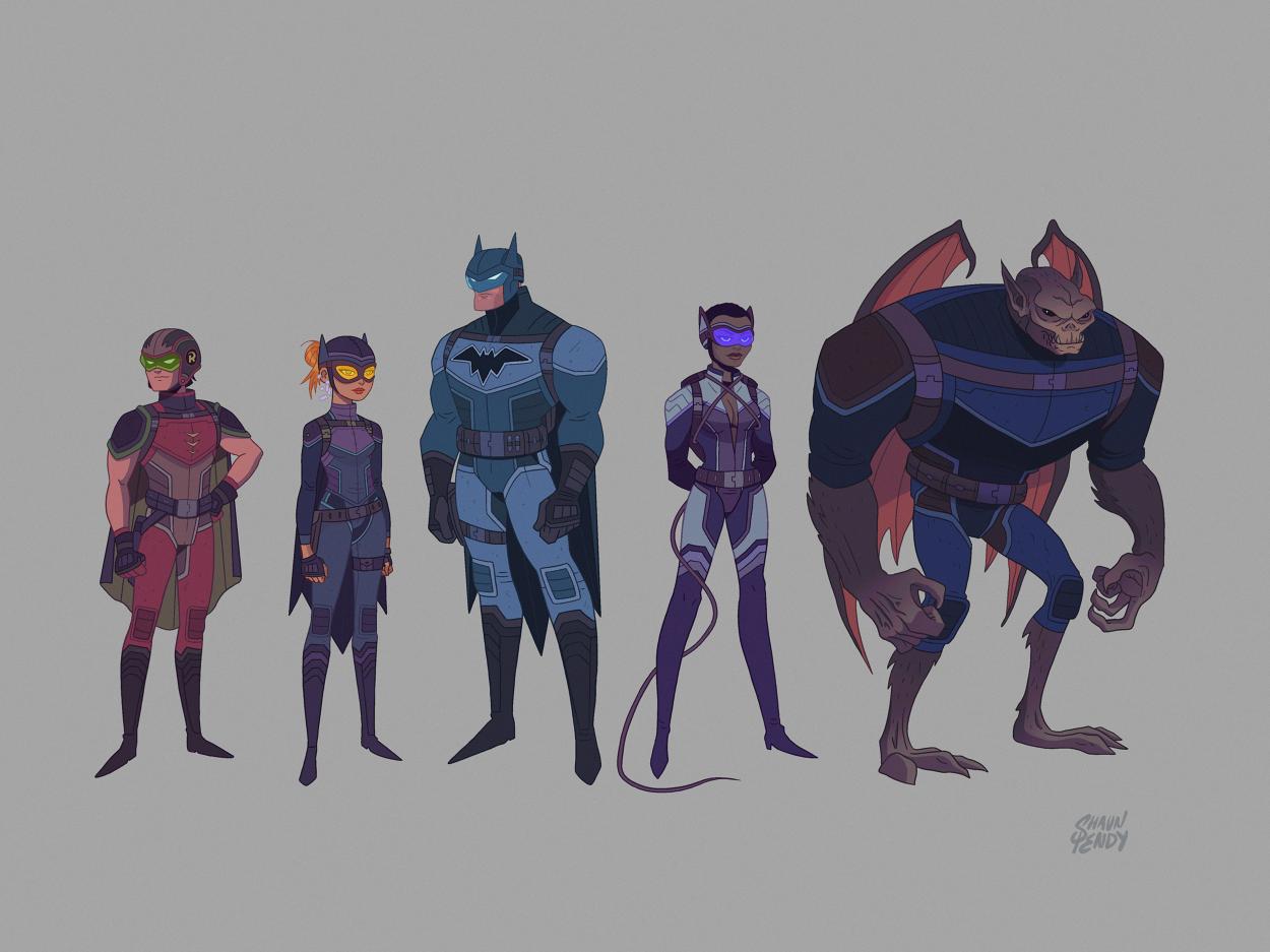 Animated Batman Series Concept - shaunpendy com - Personal