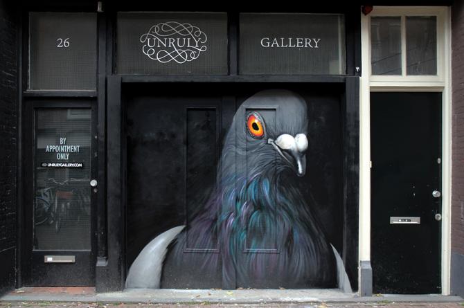 Pigeon Murals Adele Renault