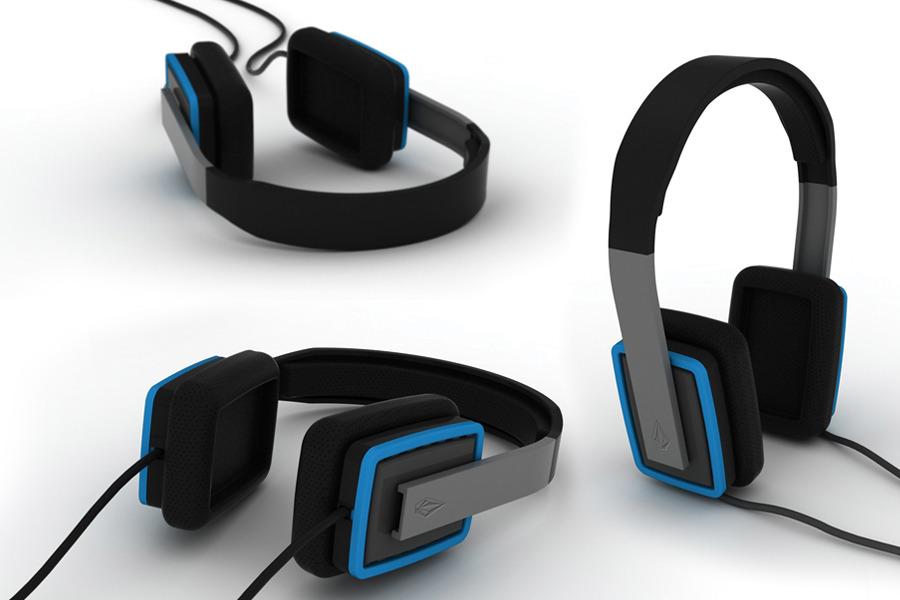 Volcom. Headphones. - Andrew Dunford Industrial Design