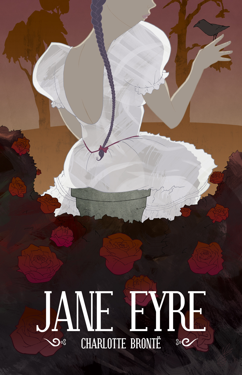 Jane Eyre Book Cover Penguin : Book cover collage jane eyre themis athena s garden of