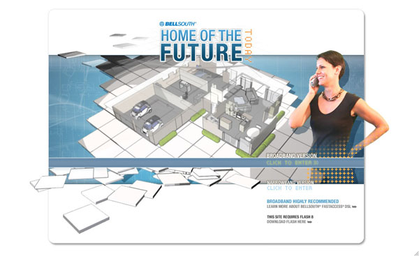 """BellSouth """"Home of the Future"""""""