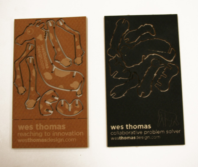 Interactive business cards wes thomas design colourmoves