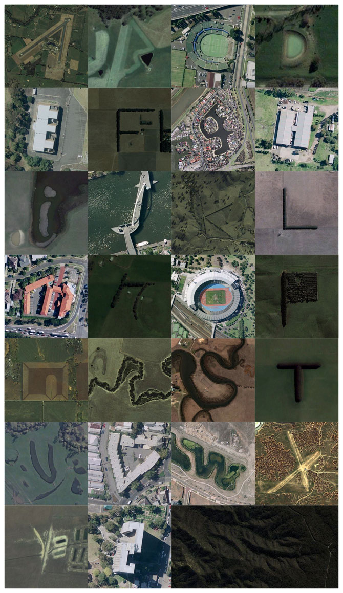 Typography in Victory on Google Earth