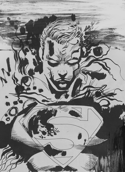 DC Comics Competition - Sam Green | Illustration and Art