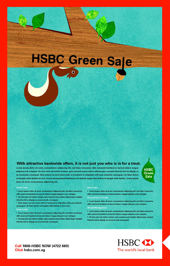 HSBC Green Sales - kuanth