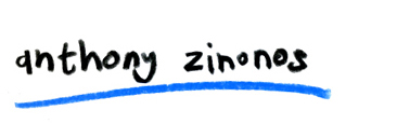 Anthony Zinonos ~ Shop