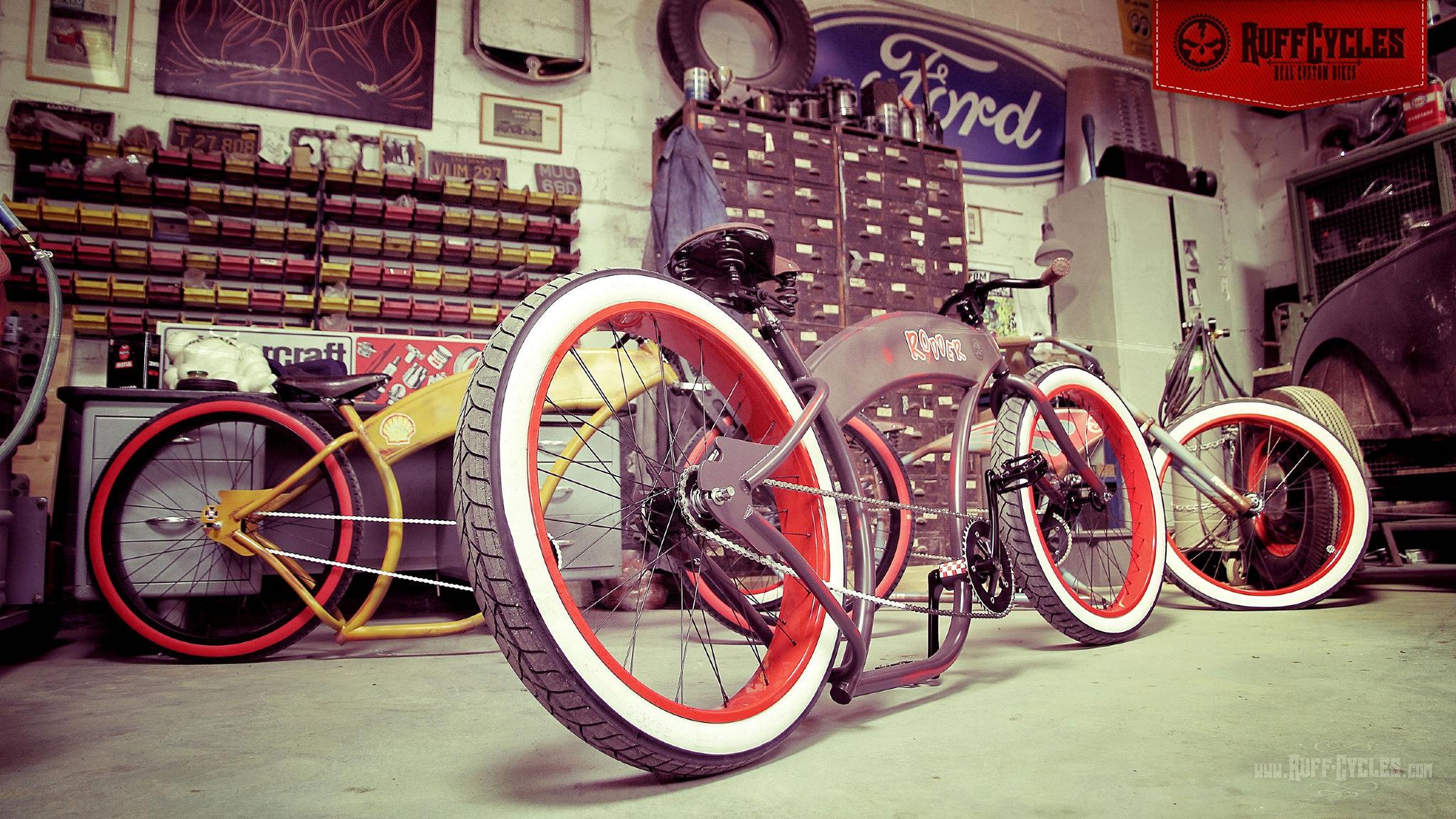 Ruff Cycles - PIXELEYE INDUSTRIES | Dirk Behlau | Designer +
