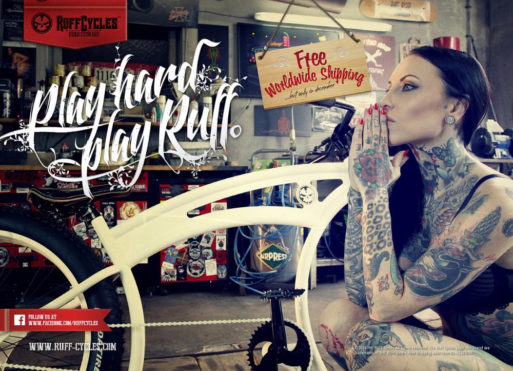 Ruff Cycles 2014 - PIXELEYE INDUSTRIES | Dirk Behlau | Designer +