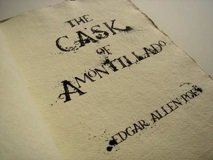 the cask of amontillado is worth Free cask of amontillado papers, essays, and research papers.