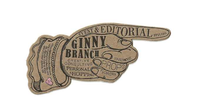 Ginny Branch Business Cards