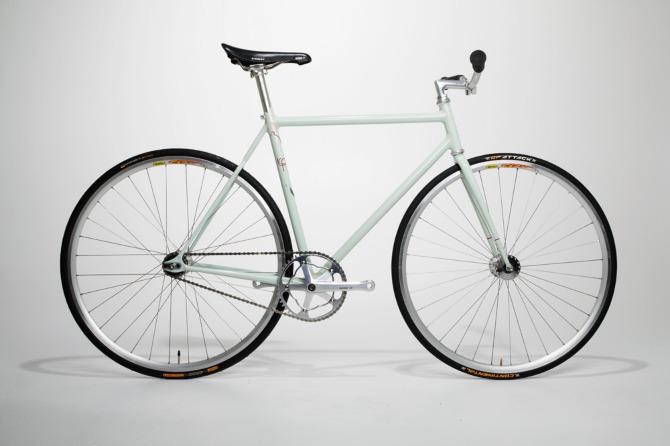 Jeff\'s custom fixed gear - Icarus Frames