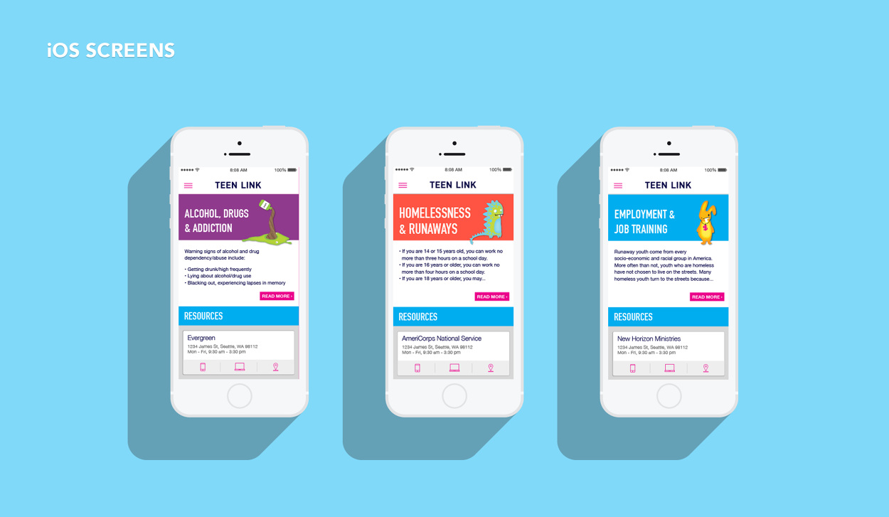 teen link ios app