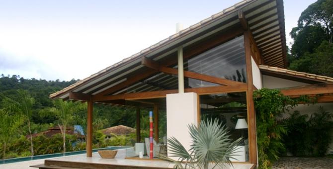 Fotos de fachadas de casas de campo fachada lateral for Fachada casa campo