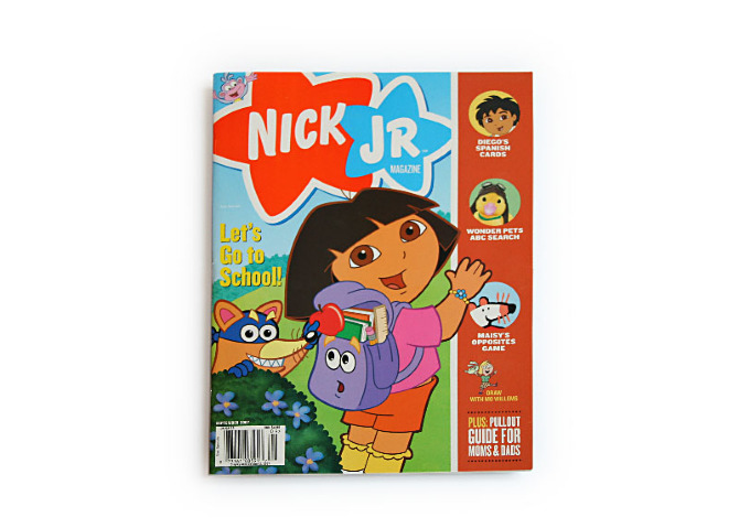 Redesign >> Nick Jr. Magazine - Jessica Bloom