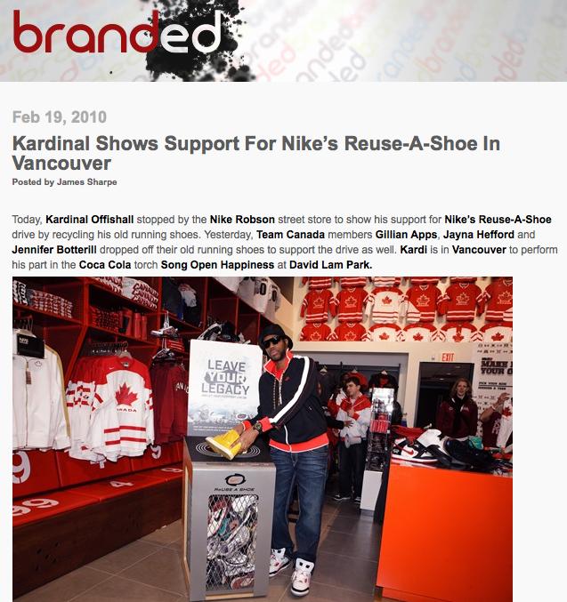 Nike Reuse A Shoe Canada
