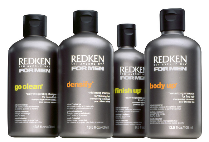 The packaging i designed for redken men was heavily covered in the