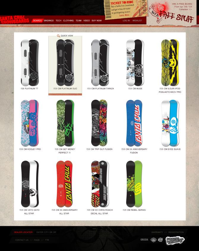 e967b5cce2b9 Santa Cruz Snowboards - Portfolio