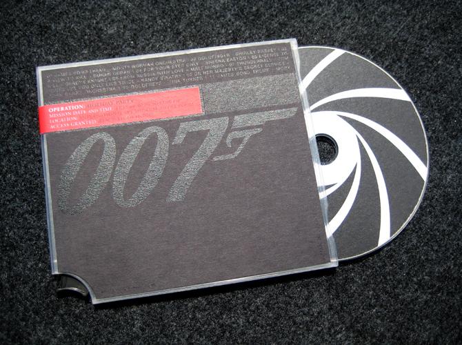 James Bond Party Invitation James Hallock – James Bond Party Invitations