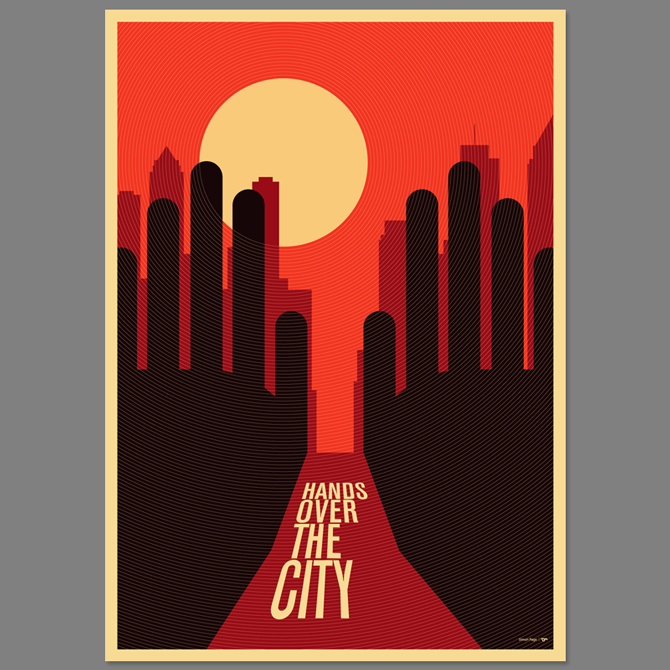 Hands over the City Movie Poster - excites - the Portfolio of Simon C ...: excites.co.uk/Hands-over-the-City-Movie-Poster