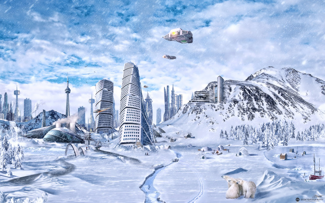 Global Freezing - Digital Art & Design by Anthony Giacomino
