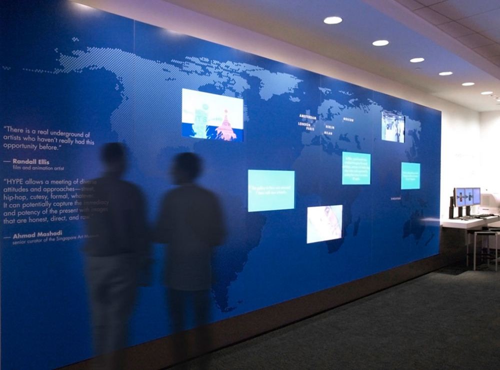 Hp Executive Briefing Center Polychrome