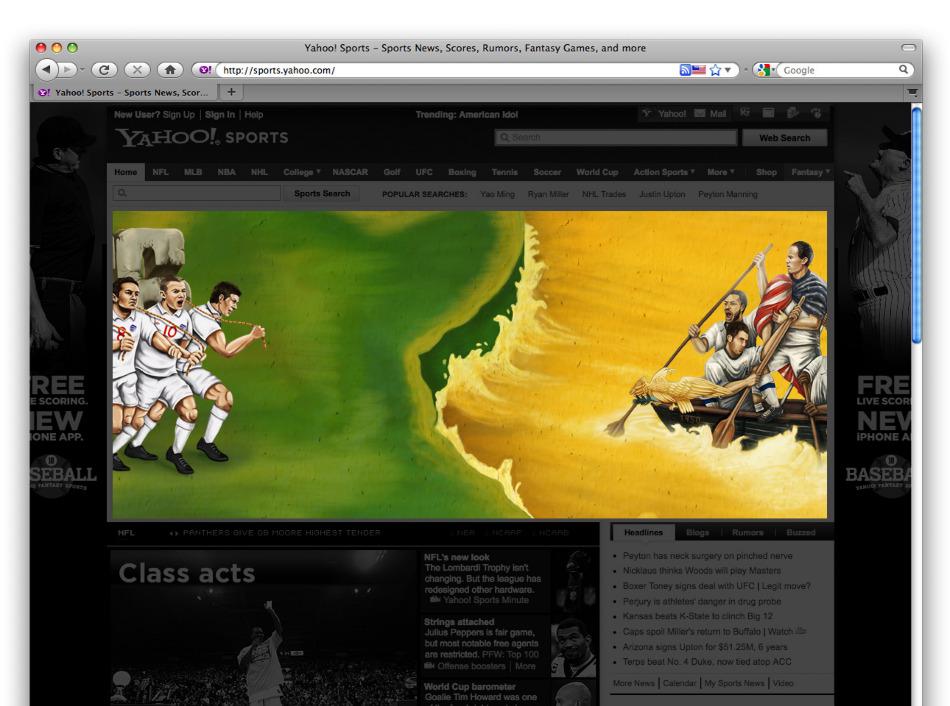 ESPN 2010 World Cup - Tomiwa Alabi - Portfolio