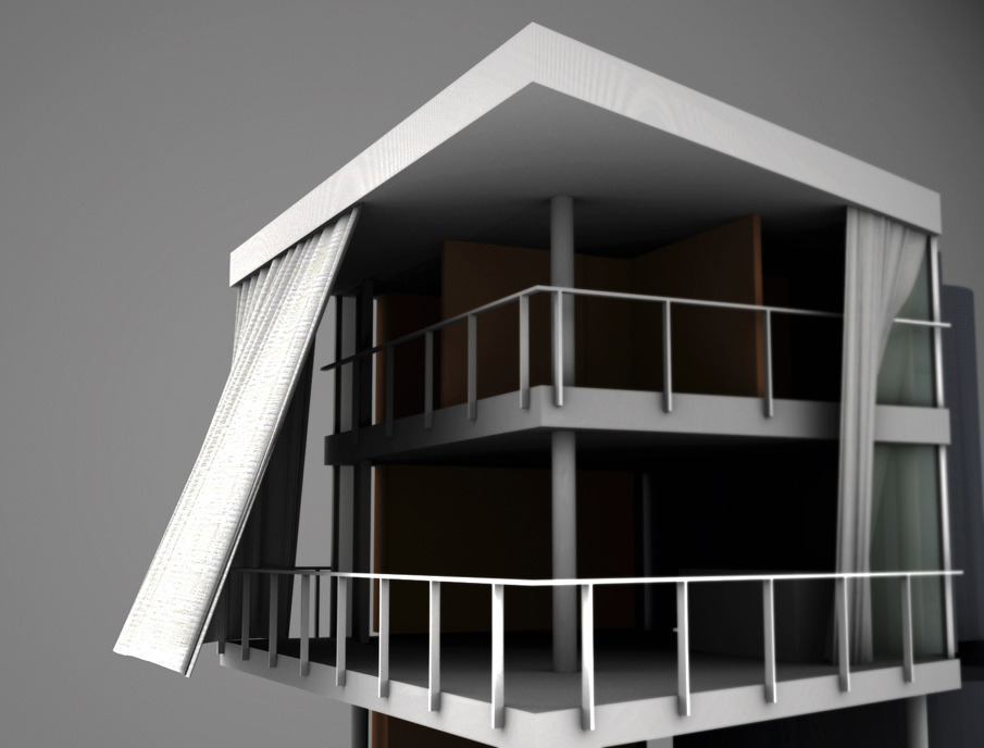 Curtain Wall House 1995 Decorate The House With