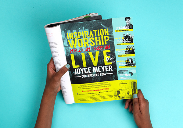 Joyce Meyer Conference Tour Branding - a collection of work