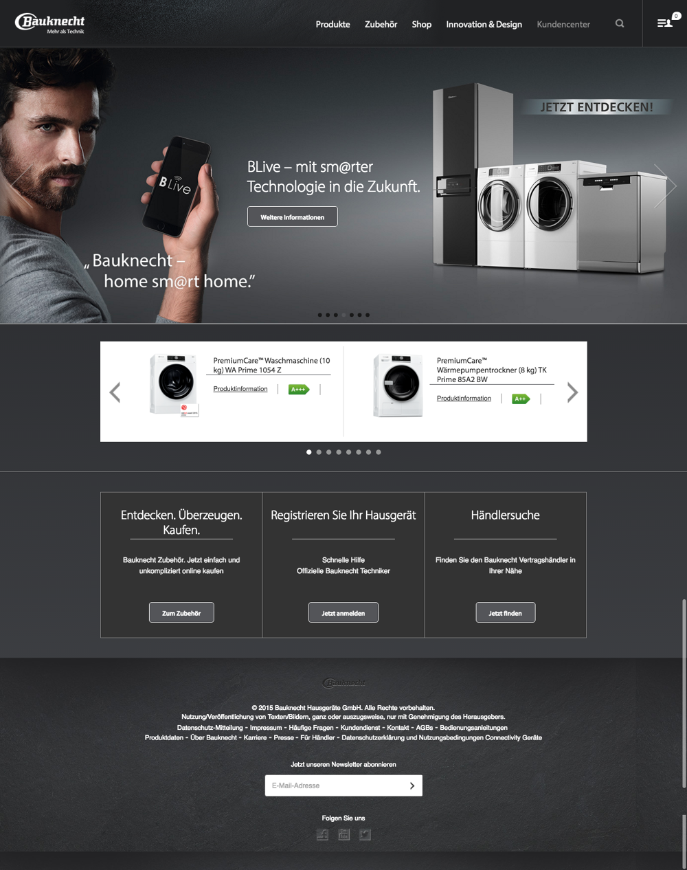 Whirlpool Co Uk Bauknecht De Thomas Hillard Interactive Producer