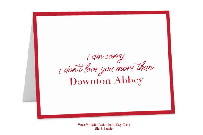 Happy Valentineu0026#39;s Day! Free Printable Valentineu0026#39;s Day Cards . Who ...
