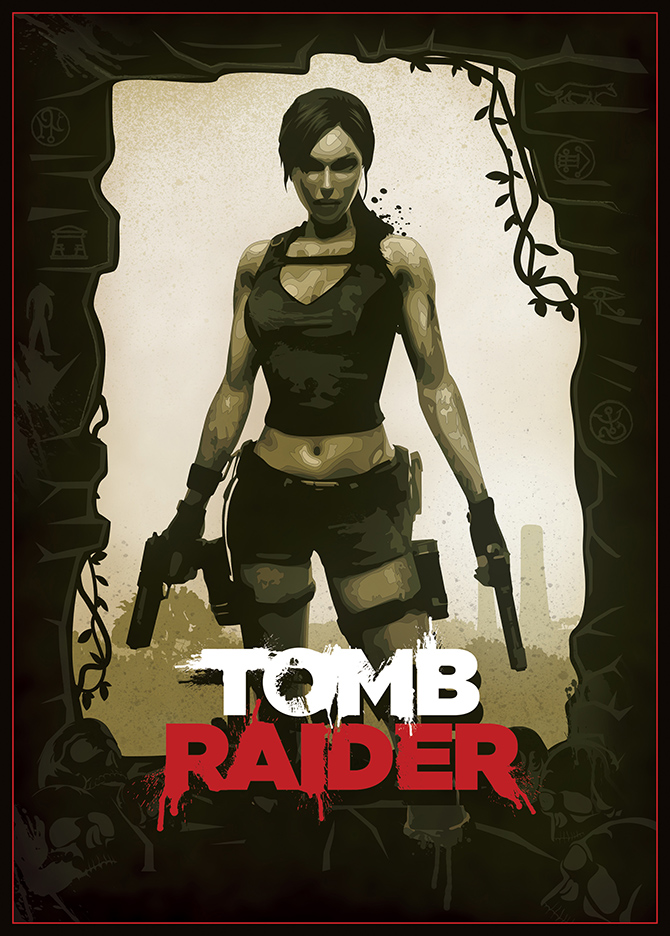 original tomb raider movie poster