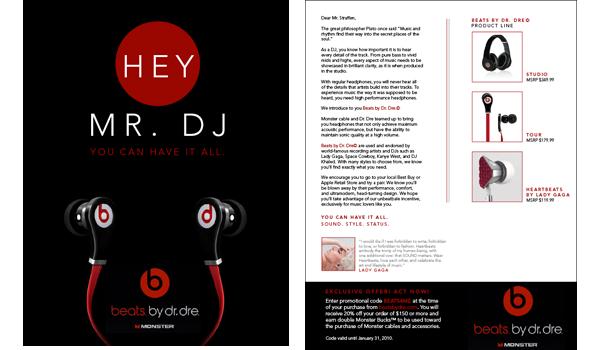 Beats By Dr Dre Campaign Emmdash Design