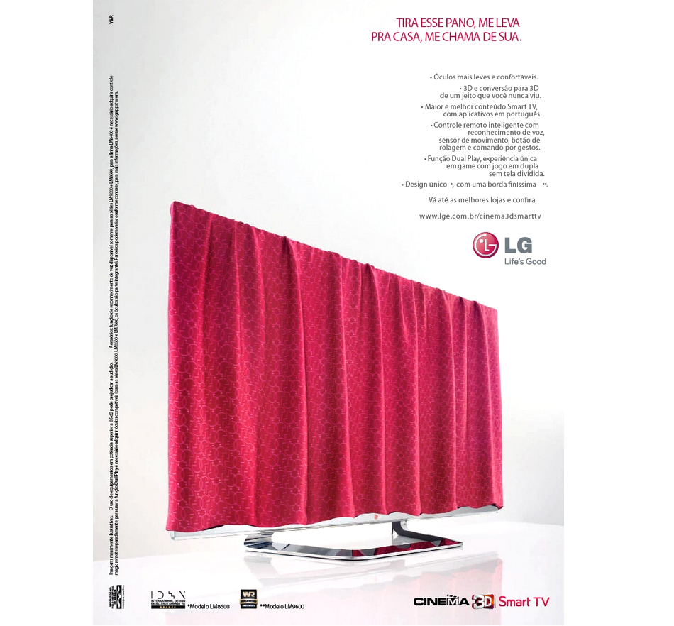 LG Electronics: TV Cover - Dani Moura