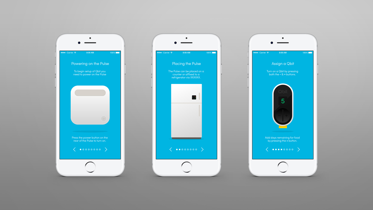 Qbit iOS App - Daniel Führer Design