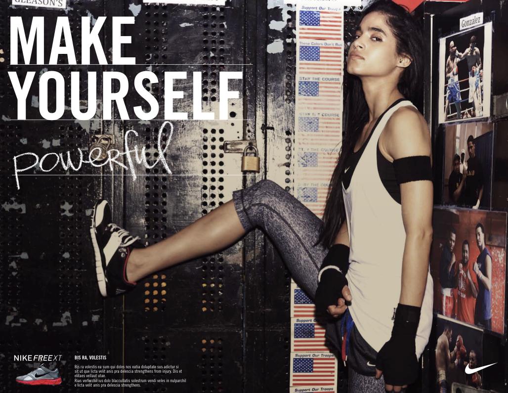 Nike Make Yourself Andre Le Masurier Creative Art Direction