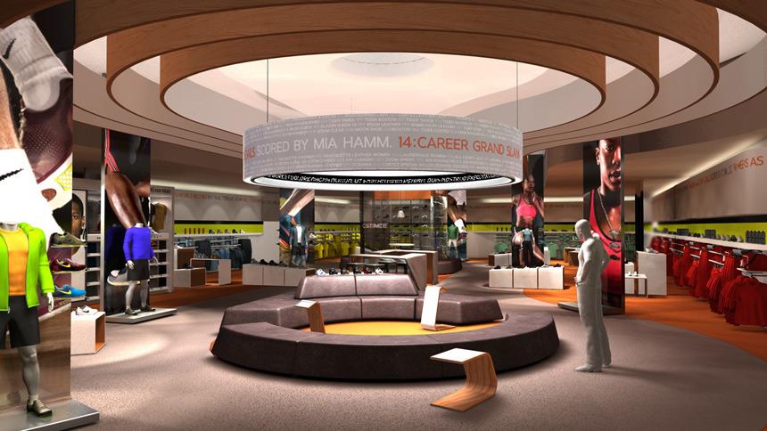 Nike Concept Store Sketchbook Inc